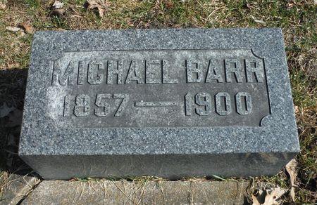 BARR, MICHAEL - Delaware County, Iowa | MICHAEL BARR
