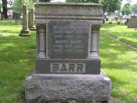 BARR, MARIE - Delaware County, Iowa | MARIE BARR