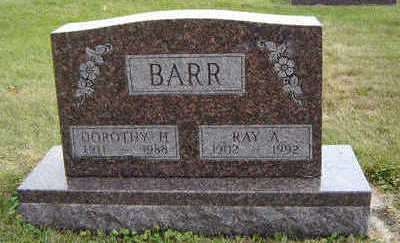 BARR, DOROTHY H. - Delaware County, Iowa | DOROTHY H. BARR