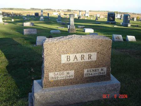 BARR, HENRY M. - Delaware County, Iowa | HENRY M. BARR