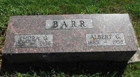 BARR, ALBERT G. - Delaware County, Iowa   ALBERT G. BARR