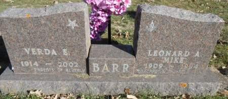 SATTERLEE BARR, VERDA E. - Delaware County, Iowa | VERDA E. SATTERLEE BARR