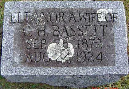 BASSETT, ELEANOR AMANDA - Delaware County, Iowa | ELEANOR AMANDA BASSETT
