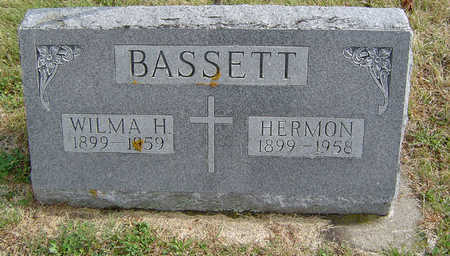 LITTLE BASSETT, WILMA HAZEL - Delaware County, Iowa | WILMA HAZEL LITTLE BASSETT