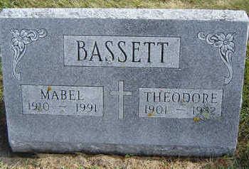 BASSETT, MABEL - Delaware County, Iowa | MABEL BASSETT