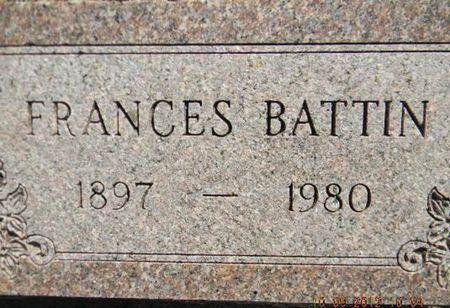 BATTIN, FRANCES - Delaware County, Iowa | FRANCES BATTIN