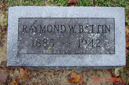 BATTIN, RAYMOND W. - Delaware County, Iowa   RAYMOND W. BATTIN