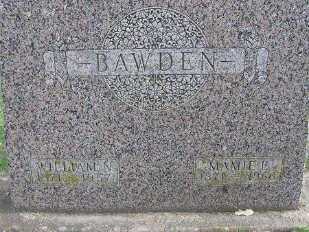 BAWDEN, WILLIAM N. - Delaware County, Iowa | WILLIAM N. BAWDEN