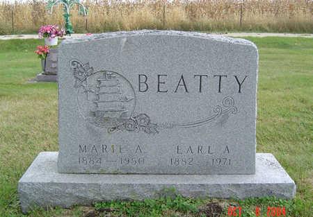 BEATTY, MARIE ANNA - Delaware County, Iowa | MARIE ANNA BEATTY