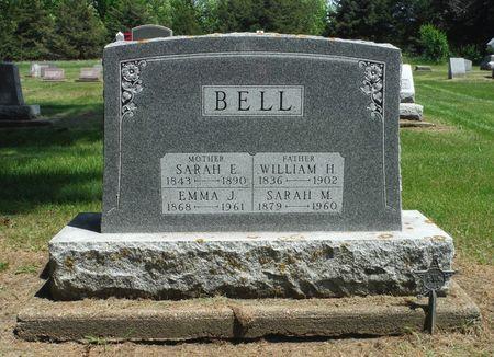 BELL, EMMA JANE - Delaware County, Iowa | EMMA JANE BELL