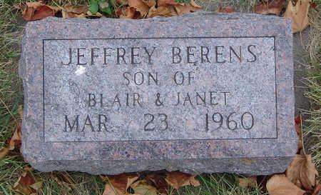BERENS, JEFFREY - Delaware County, Iowa   JEFFREY BERENS
