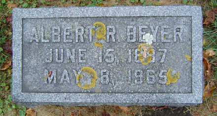 BEYER, ALBERT R. - Delaware County, Iowa | ALBERT R. BEYER