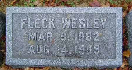 BEYER, FLECK WESLEY - Delaware County, Iowa | FLECK WESLEY BEYER