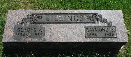 BILLINGS, GLADYS V. - Delaware County, Iowa | GLADYS V. BILLINGS