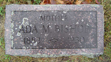 THOMAS BISHOP, ADA M. - Delaware County, Iowa | ADA M. THOMAS BISHOP