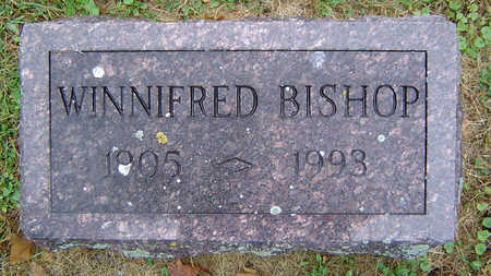 BISHOP, WINNIFRED - Delaware County, Iowa | WINNIFRED BISHOP