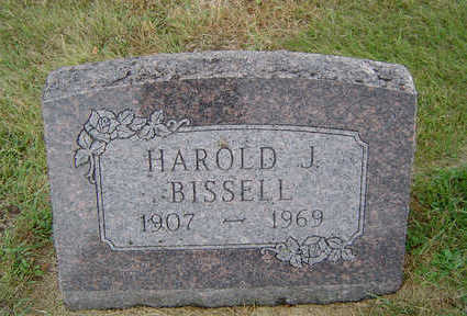 BISSELL, HAROLD J. - Delaware County, Iowa | HAROLD J. BISSELL