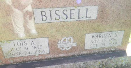 BISSELL, WARREN S. - Delaware County, Iowa | WARREN S. BISSELL