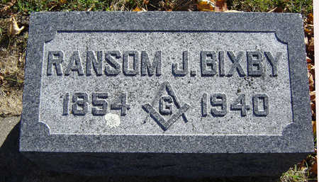 BIXBY, RANSOM J. - Delaware County, Iowa | RANSOM J. BIXBY