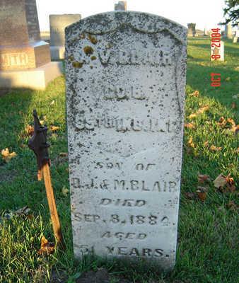 BLAIR, ABRAHAM V. - Delaware County, Iowa | ABRAHAM V. BLAIR