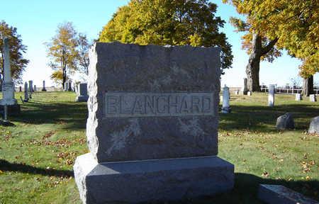 BLANCHARD, FAMILY MONUMENT - Delaware County, Iowa   FAMILY MONUMENT BLANCHARD