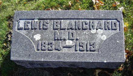 BLANCHARD, LEWIS (M.D.) - Delaware County, Iowa   LEWIS (M.D.) BLANCHARD