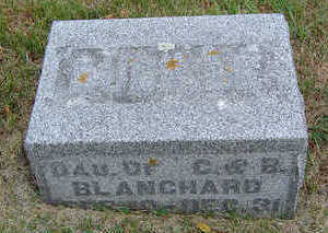 BLANCHARD, LUCILLE - Delaware County, Iowa | LUCILLE BLANCHARD