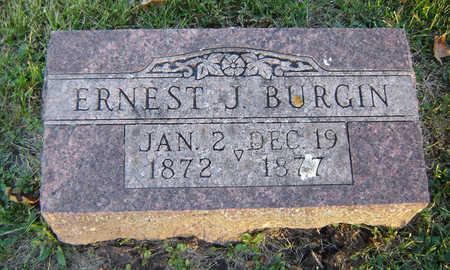 BURGIN, ERNEST J. - Delaware County, Iowa | ERNEST J. BURGIN