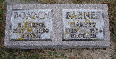 BARNES BONNIN, EDITH IRENE - Delaware County, Iowa | EDITH IRENE BARNES BONNIN