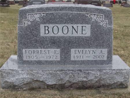 BOONE, EVELYN A. - Delaware County, Iowa | EVELYN A. BOONE