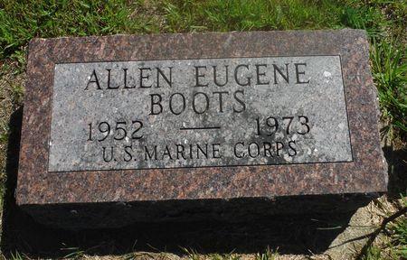 BOOTS, ALLEN EUGENE - Delaware County, Iowa | ALLEN EUGENE BOOTS