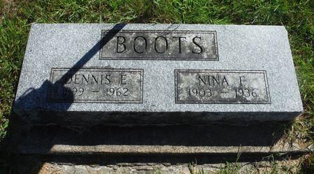 BOOTS, DENNIS E. - Delaware County, Iowa | DENNIS E. BOOTS