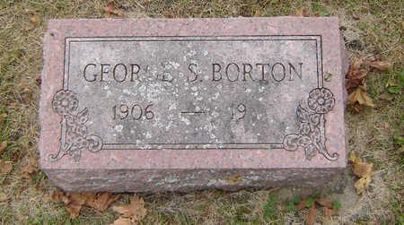 BORTON, GEORGE SIDNEY - Delaware County, Iowa   GEORGE SIDNEY BORTON