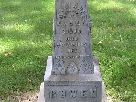 BOWEN, MARY ANN - Delaware County, Iowa | MARY ANN BOWEN