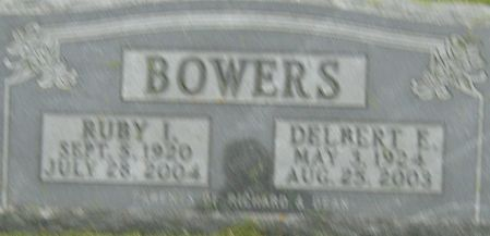 BOWERS, DELBERT EUGENE - Delaware County, Iowa | DELBERT EUGENE BOWERS
