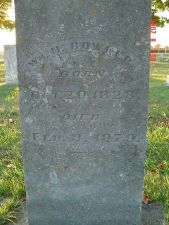 BOWKER, WM H - Delaware County, Iowa | WM H BOWKER