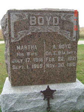 APPLETON BOYD, MARTHA - Delaware County, Iowa | MARTHA APPLETON BOYD