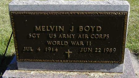 BOYD, MELVIN J. - Delaware County, Iowa | MELVIN J. BOYD