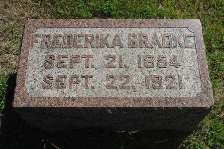 BRADKE, FREDERICKA - Delaware County, Iowa | FREDERICKA BRADKE