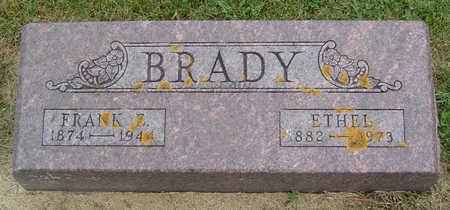 BRADY, FRANK E. - Delaware County, Iowa | FRANK E. BRADY