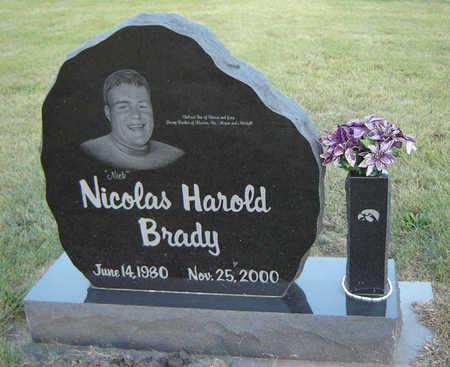BRADY, NICHOLAS HAROLD - Delaware County, Iowa | NICHOLAS HAROLD BRADY