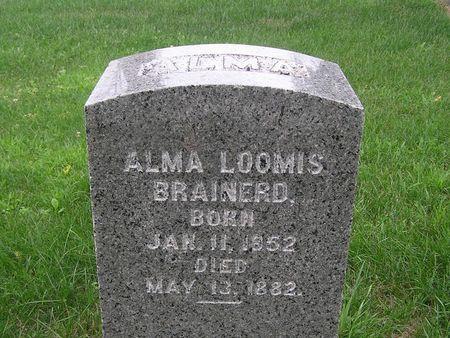BRAINERD, ALMA - Delaware County, Iowa | ALMA BRAINERD