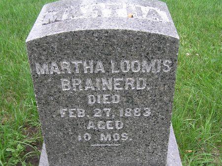 LOOMIS BRAINERD, MARTHA - Delaware County, Iowa | MARTHA LOOMIS BRAINERD