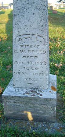 BREED, ANN L. - Delaware County, Iowa | ANN L. BREED