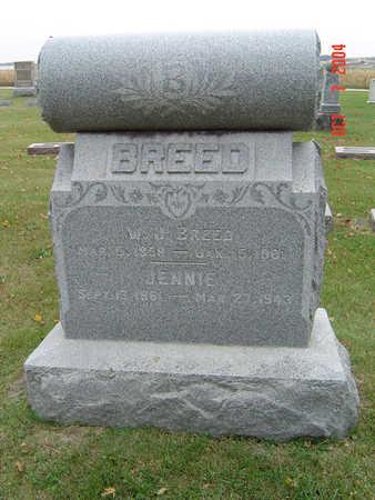 BREED, WILLIAM J. - Delaware County, Iowa | WILLIAM J. BREED
