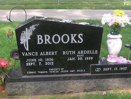 BROOKS, VANCE ALBERT - Delaware County, Iowa | VANCE ALBERT BROOKS