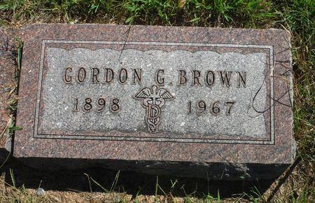 BROWN, GORDON G. - Delaware County, Iowa   GORDON G. BROWN