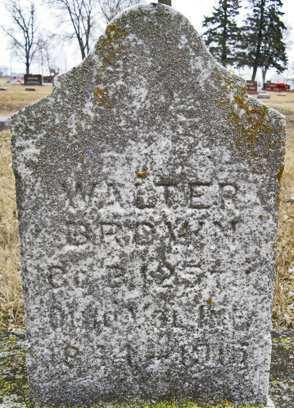 BROWN, WALTER - Delaware County, Iowa | WALTER BROWN