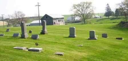 BUCK CREEK, CEMETERY - Delaware County, Iowa   CEMETERY BUCK CREEK