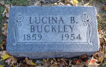 BUCKLEY, LUCINA - Delaware County, Iowa | LUCINA BUCKLEY